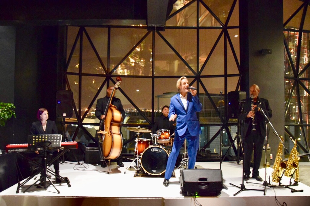 photo madri le roux event planners Ike Moriz Quintet at Zeitz Mocaa swing band jazz Cape Town South Africa entertainment birthday top wedding singer crooner waterfront museum of contemporary art Africa