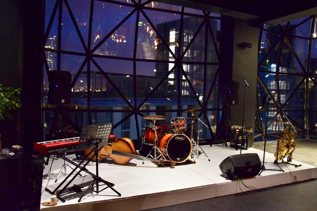the event planners Ike Moriz Quintet at Zeitz Mocaa swing band jazz Cape Town South Africa entertainment birthday top wedding singer crooner waterfront museum of contemporary art Africa trio quintet quartet duo