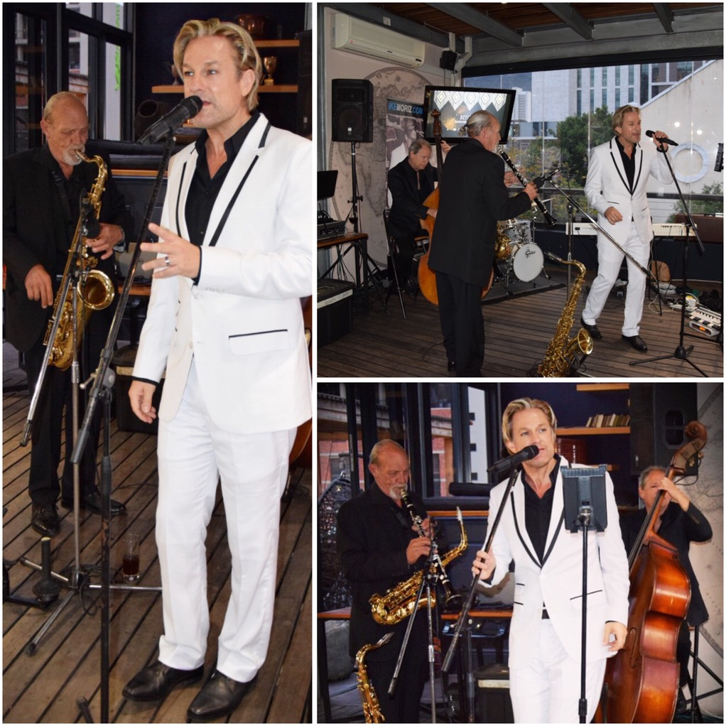 Ike Moriz Swing Quintet live at The Cartel Rooftop Bar Cape Town wedding entertainment jazz latin blues pop great gatsby charleston 20s 30s 40s quartet band birthday party south africa